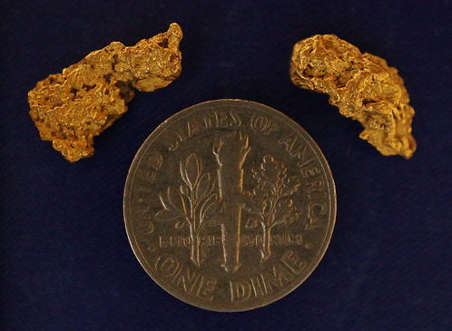 Genuine Nevada Gold Nuggets For Sale at goldnuggetman.com