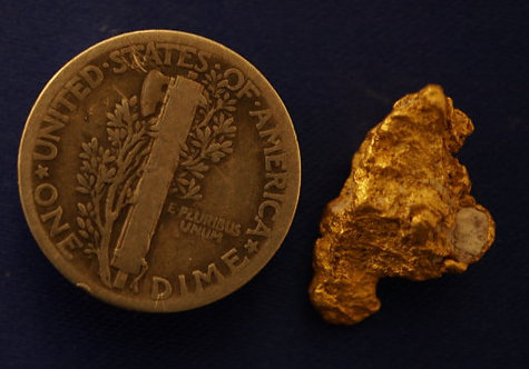 Dark Ages Gallery of Gold and Quartz Specimens at goldnuggetman.com