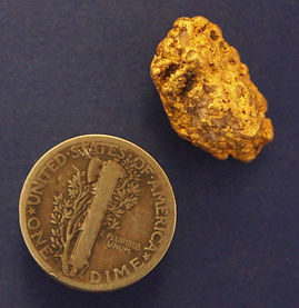 Large Gold Nugget gnm219