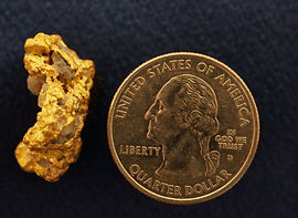Large Gold and Quartz Specimen gnmda110