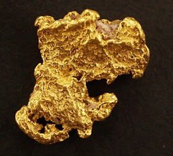 Medium Gold Nugget gnm148