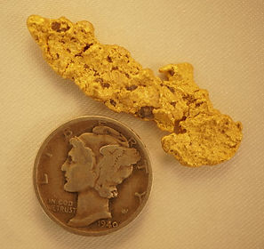 Large Gold Nugget gnm210