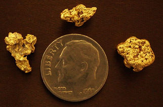 Genuine Gold Nuggets gnmcol130