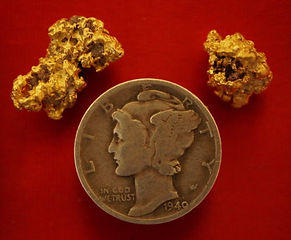 Real Gold Nuggets gnmcol135