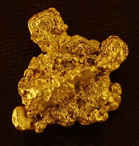 Medium Gold Nugget gnm190