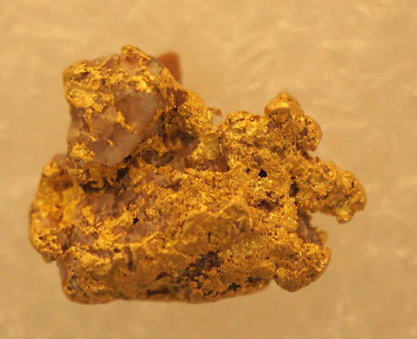 Large Gold Nugget with Quartz 9.58 Grams at goldnuggetman.com