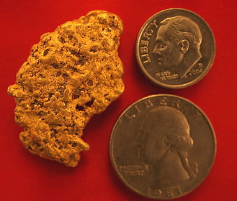 Large Gold Nugget gnm809