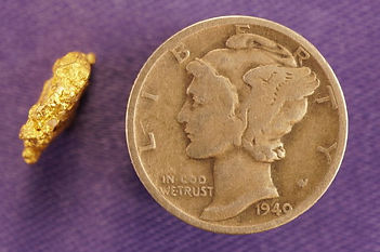 Natural Gold Nugget gnm126