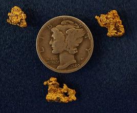 Natural Gold and Quartz Specimen gnmda510