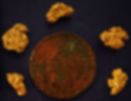 Real Gold Nuggets gnmcol131