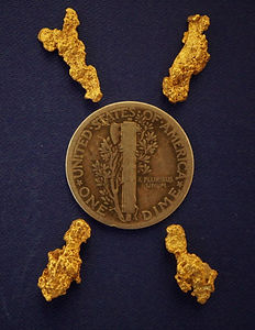 Genuine Gold Nuggets gnmcol137