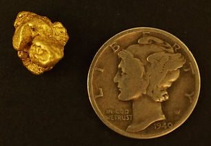 Natural Gold Nugget gnm200
