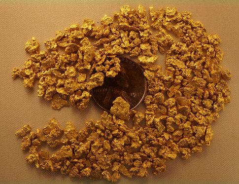 Natural Gold For Sale at goldnuggetman.com