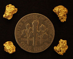 Real Gold Nuggets gnmcol128