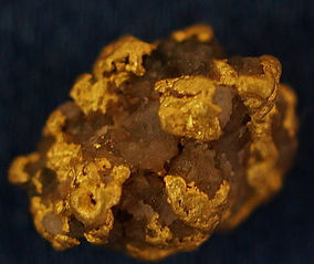 Genuine Gold and Quartz Specimen gnmda509