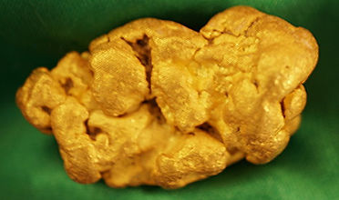 Large Gold Nugget gnm207