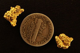 Genuine Gold Nuggets gnmcol134