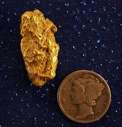 Natural Gold Nugget gnm100