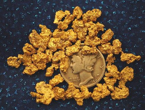 Gold Collection at goldnuggetman.com