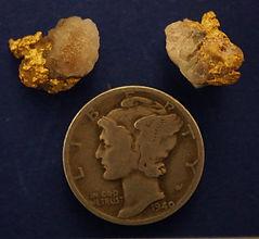 Natural Occurring Gold and Quartz Specimens gnmda513