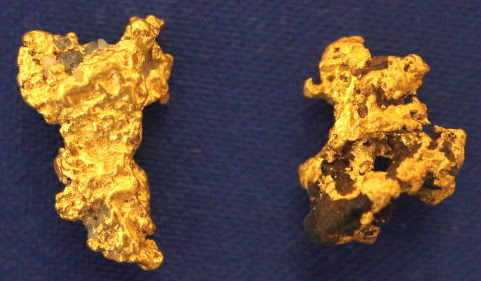 Genuine Nevada Gold and Quartz Specimens at goldnuggetman.com