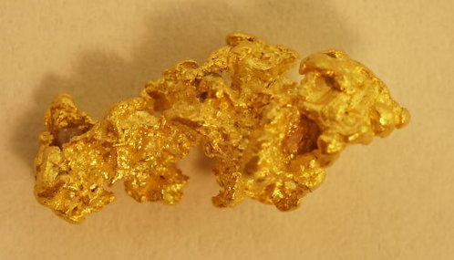 Small Gold Nugget at goldnuggetman.com