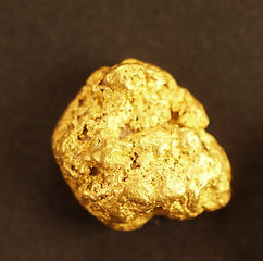 Small Gold Nugget gnm149
