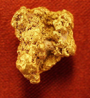 Natural Gold Nugget gnm176