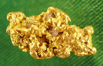 Medium Gold Nugget gnm157