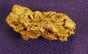 Small Gold Nugget gnm129