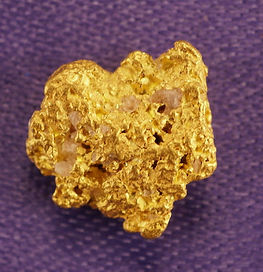 Small Gold Nugget gnm126