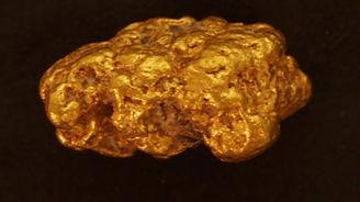 Medium Gold Nugget gnm180