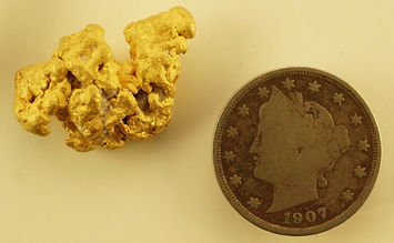 Genuine Gold Nugget gnm206