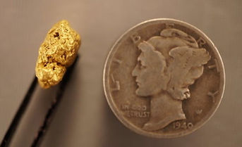 Small Gold Nugget gnm188
