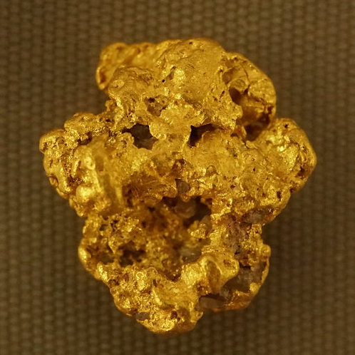 Natural Gold Nugget at goldnuggetman.com