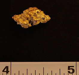 Natural Gold Nugget gnm145