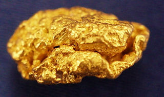 Medium Gold Nugget gnm146