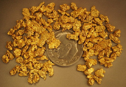 Real Gold For Sale at goldnuggetman.com