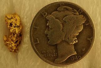 Genuine Gold Nugget gnm189