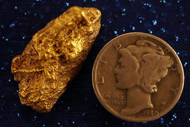 Nevada Natural Gold Nugget gnm100