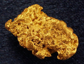 Medium Gold Nugget gnm
