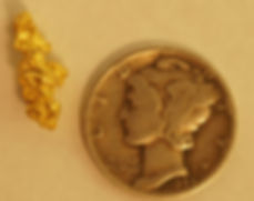 Small Gold Nugget gnm164
