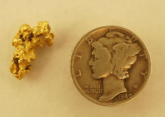 Small Gold Nugget gnm192