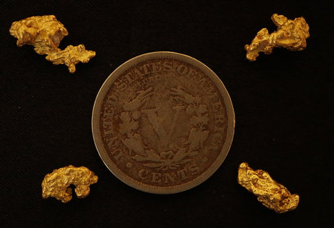 Genuine Gold Nugget Collection at goldnuggetman.com