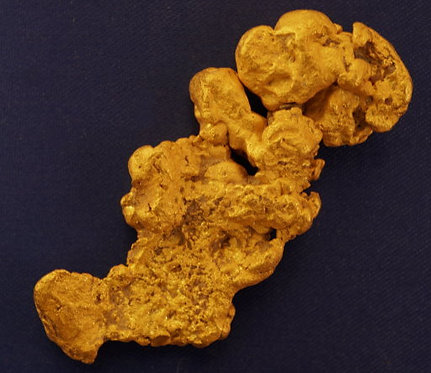 Large Gold Nugget 46.47 Grams