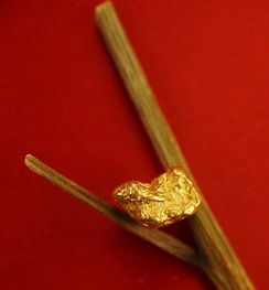 Medium Gold Nugget gnm112
