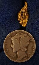 Gold and Quartz Specimen gnmda508