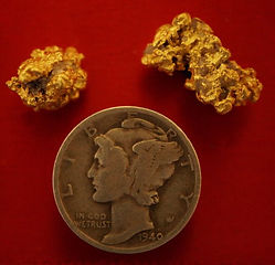 Natural Gold Nugget gnmcol135