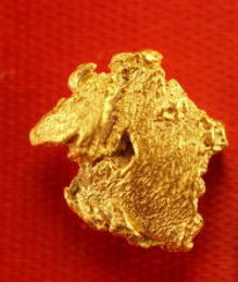 Small Gold Nugget gnm124