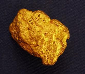 Medium Gold Nugget gnm177